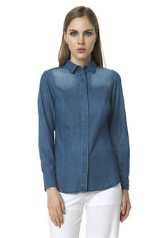 Denim shirt FRACOMINA | 2035781291 | FR18SP420UN