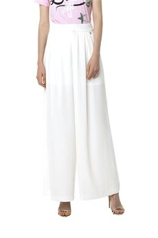 White palazzo trousers FRACOMINA | 9 | FR18SP663BI