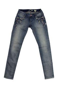 Jeans con pietre FRACOMINA | 24 | FR18SPJBEYONCE4UN