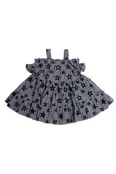 Striped dress star FUN FUN | 11 | FNBDR3345UN