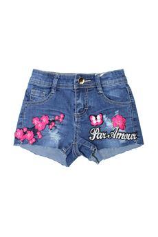Shorts con sticker fucsia FUN FUN | 30 | FNBSO3095UN