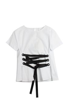 T-shirt con stringhe FUN FUN | 8 | FNJSH3855UN