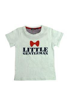 T-shirt with bow print FUN FUN | 8 | FNMBTS2638UN