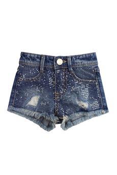 Shorts di jeans paillettes FUN FUN | 30 | FNNSO3114UN