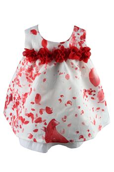 Dress with red flowers FUN FUN | 11 | NWF632UN