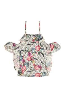 new style 2dc3e 6ed46 Top Marciano stampa fiori - GUESS - Intrighi Griffe