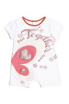 Front print baby romper GUESS | 5032278 | S81G19BIANCO