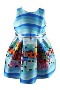 Portobello dress LOREDANA | 11 | P810 6153 AUN