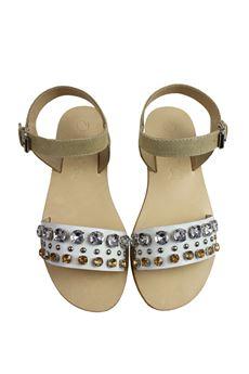 Sandalo con pietre OCA OCA | 12 | 7494 BUN