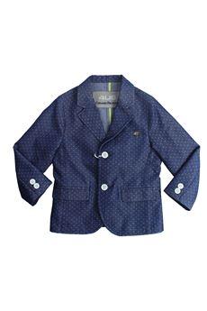 Micro-dot denim jacket PACIOTTI | 3 | GIP181809BPUN