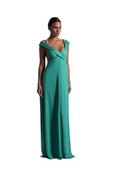 Long dress with stole VITTORIA ROMANO | 11 | 042875VE