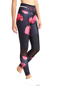 Leggings in floral print GUESS | 5032245 | O92A07UN