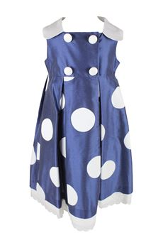 Dress ceremony with polka dots COLORICHIARI | 11 | FB105651975UN