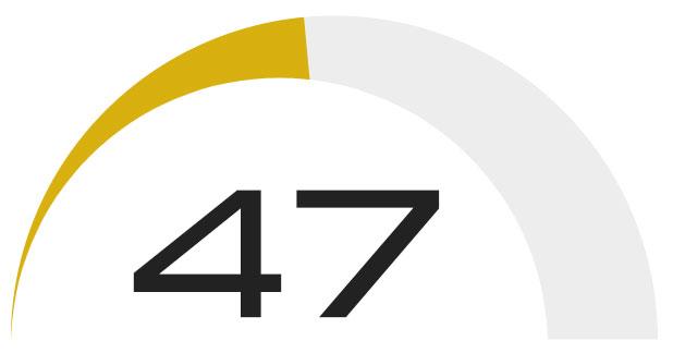 Overall Score - 47
