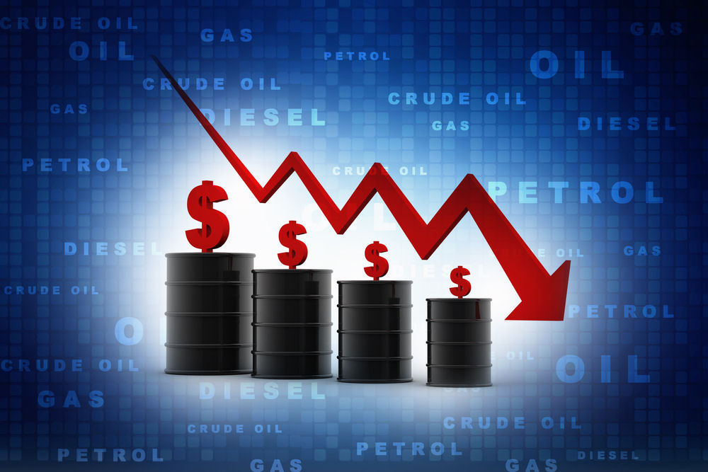 Oil prices fall again