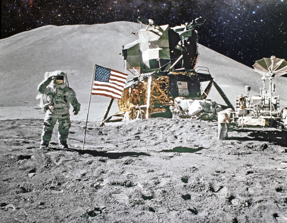 Stocks head for the moon