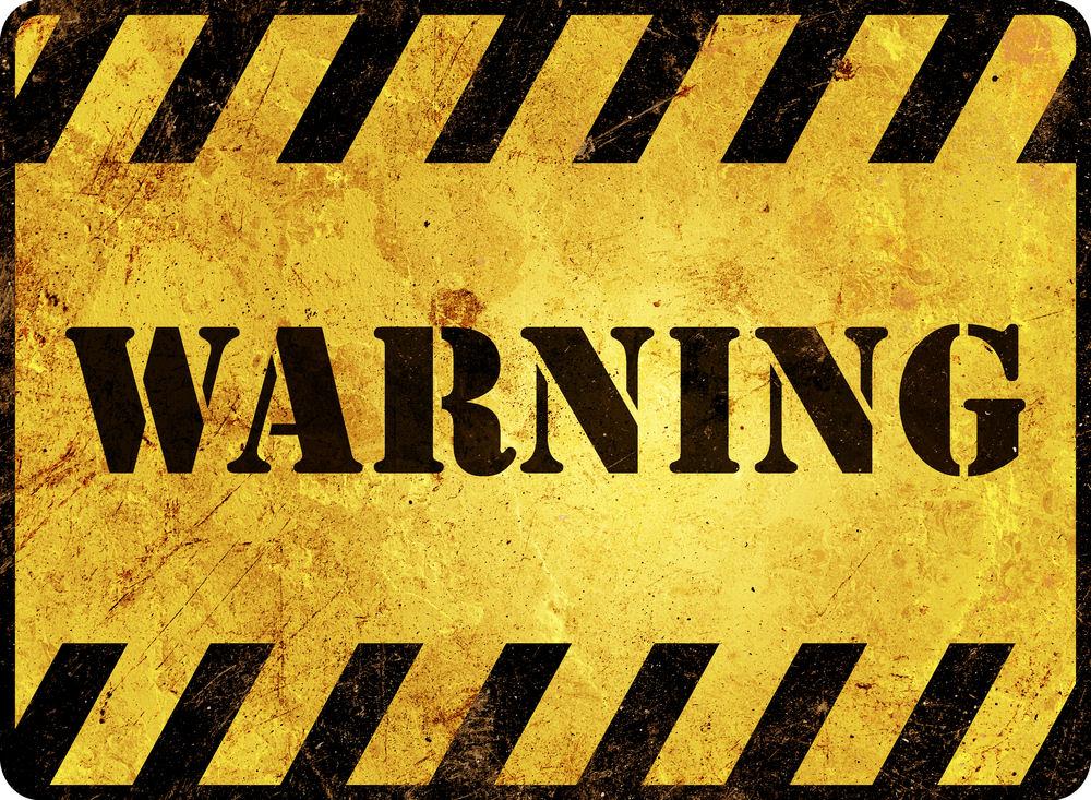 Five stocks flashing major warning signs