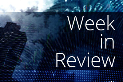 Busy week sends market higher