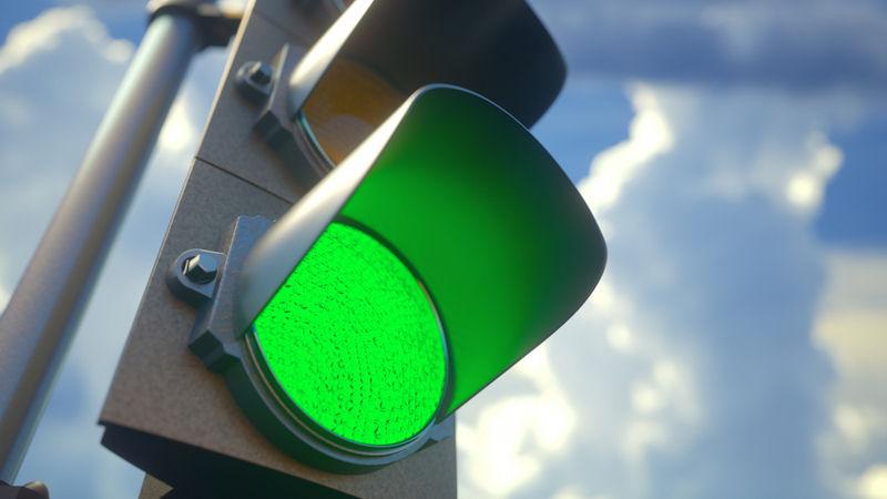 Market gets the green light