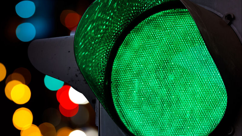Stocks get the green light