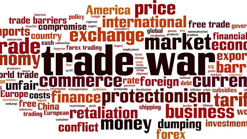 Market down as tariff talk lingers
