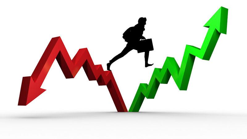 Market rises following selloff into close