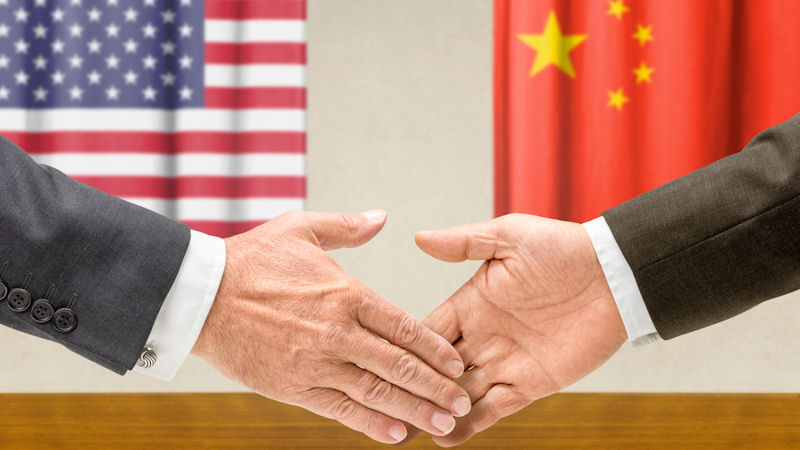 Trade war armistice moves market higher