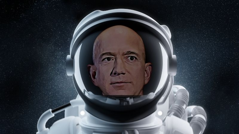 What Happens if Jeff Bezos Gets Lost in Space?