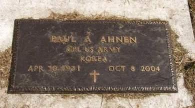 AHNEN, PAUL A. - Adair County, Iowa | PAUL A. AHNEN