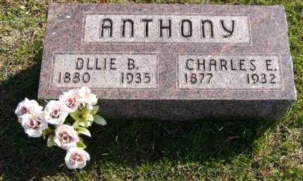 ANTHONY, CHARLES E. - Adair County, Iowa | CHARLES E. ANTHONY