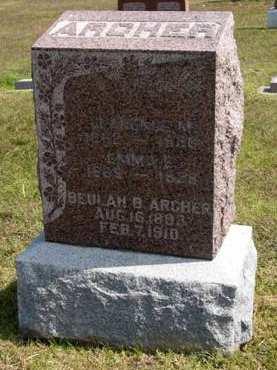 ARCHER, BEULAH B. - Adair County, Iowa | BEULAH B. ARCHER