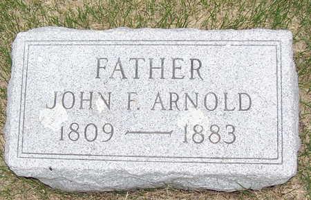 ARNOLD, JOHN F. - Adair County, Iowa | JOHN F. ARNOLD