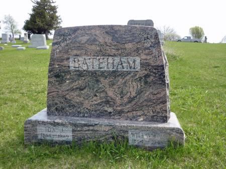 BATEHAM, IDA J - Adair County, Iowa | IDA J BATEHAM