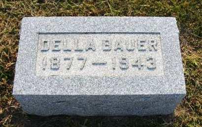 BAUER, DELLA - Adair County, Iowa | DELLA BAUER