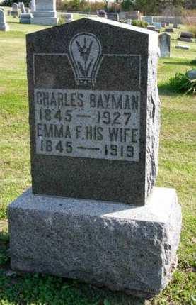 BAYMAN, CHARLES - Adair County, Iowa   CHARLES BAYMAN