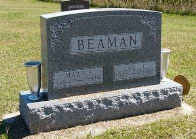 BEAMAN, MARY E. - Adair County, Iowa | MARY E. BEAMAN