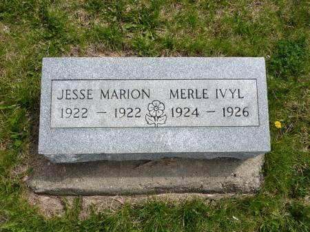 BENTON, MERLE IVYL - Adair County, Iowa | MERLE IVYL BENTON