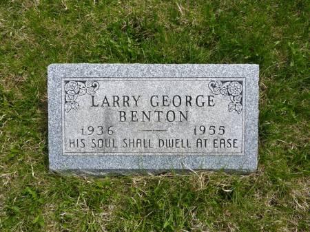BENTON, LARRY GEORGE - Adair County, Iowa | LARRY GEORGE BENTON