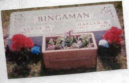 BINGAMAN, HARLAN WAYNE - Adair County, Iowa   HARLAN WAYNE BINGAMAN