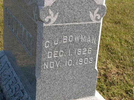 BOWMAN, C.J. - Adair County, Iowa | C.J. BOWMAN