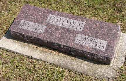 BROWN, EDWARD A. - Adair County, Iowa | EDWARD A. BROWN