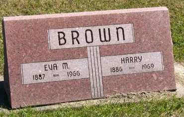 BROWN, EVA M. - Adair County, Iowa | EVA M. BROWN