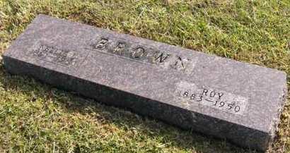 BROWN, NELLIE L. - Adair County, Iowa | NELLIE L. BROWN