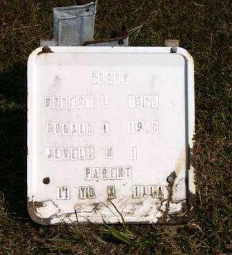 BROWN, DONALD L. - Adair County, Iowa   DONALD L. BROWN