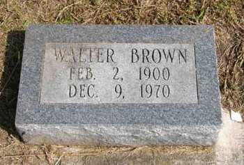 BROWN, WALTER - Adair County, Iowa | WALTER BROWN