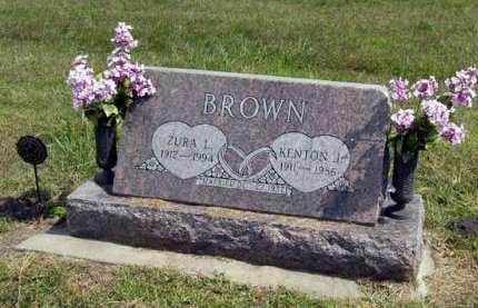 BROWN, KENTON J. - Adair County, Iowa | KENTON J. BROWN