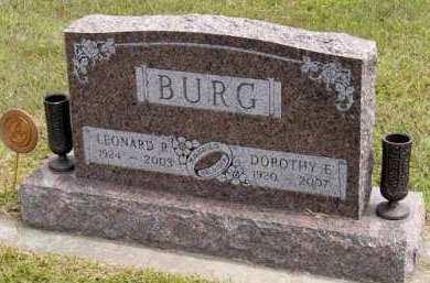 BURG, LEONARD R. - Adair County, Iowa   LEONARD R. BURG