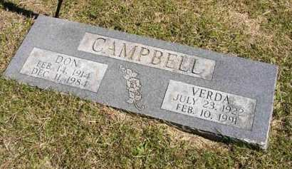 CAMPBELL, DON - Adair County, Iowa | DON CAMPBELL