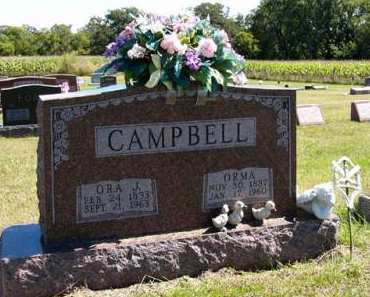 CAMPBELL, ORMA - Adair County, Iowa | ORMA CAMPBELL