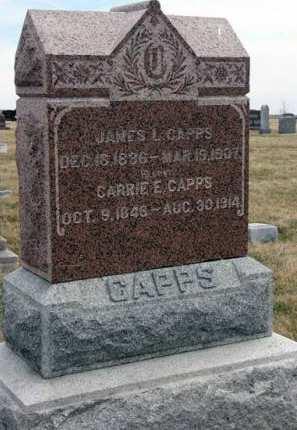 CAPPS, JAMES L. - Adair County, Iowa | JAMES L. CAPPS